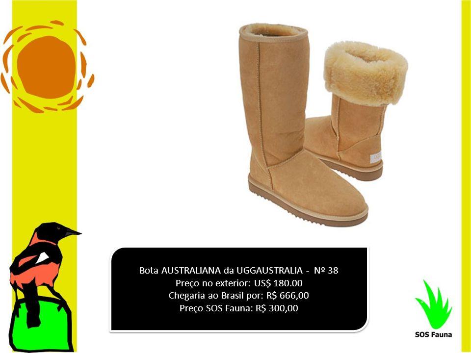 Bota AUSTRALIANA da UGGAUSTRALIA - Nº 38 Preço no exterior: US$ 180.00