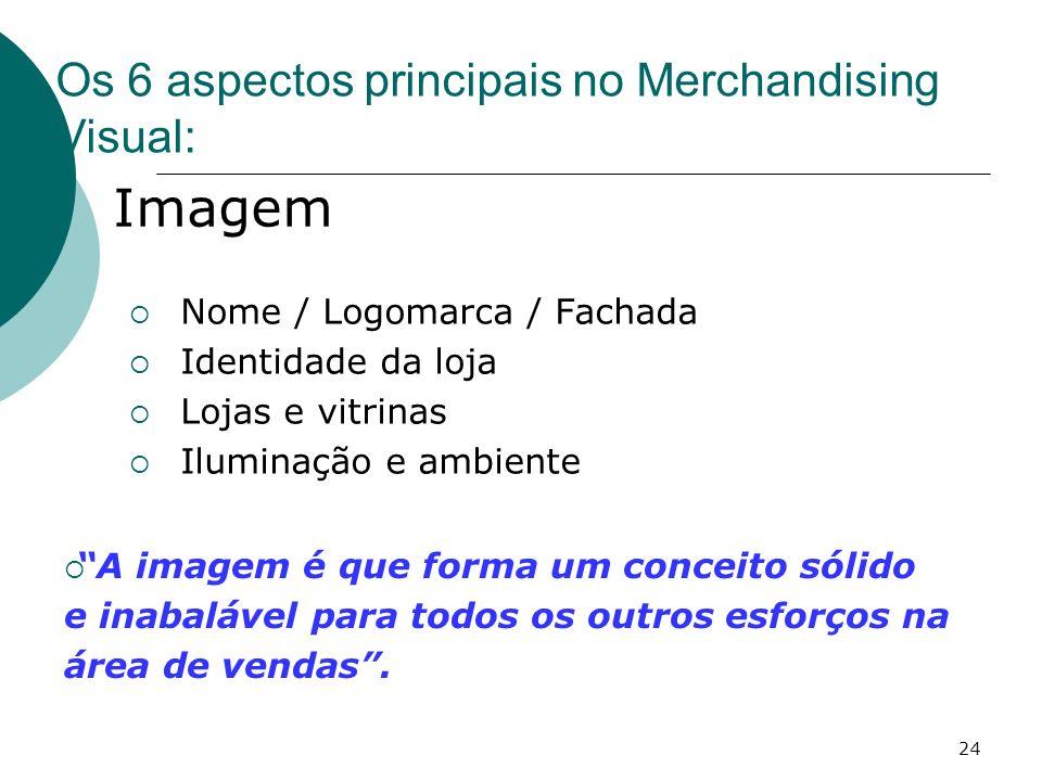 Imagem Os 6 aspectos principais no Merchandising Visual: