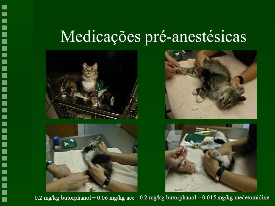 Medicações pré-anestésicas