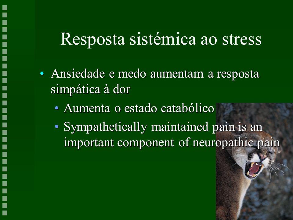 Resposta sistémica ao stress