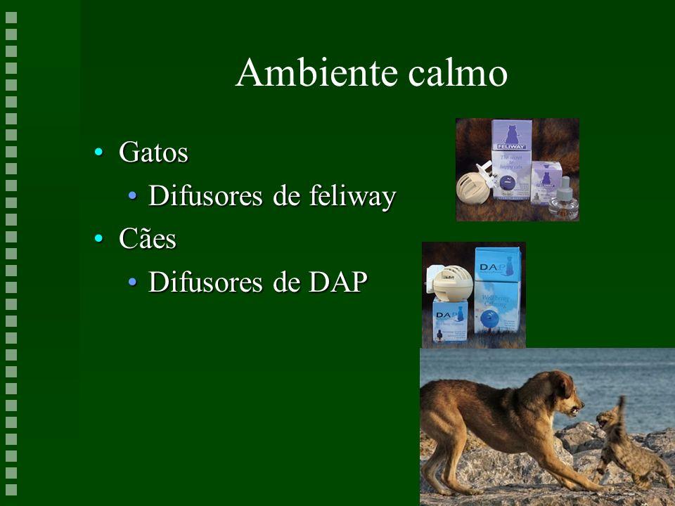 Ambiente calmo Gatos Difusores de feliway Cães Difusores de DAP