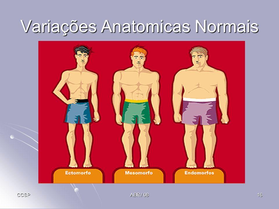 Variações Anatomicas Normais