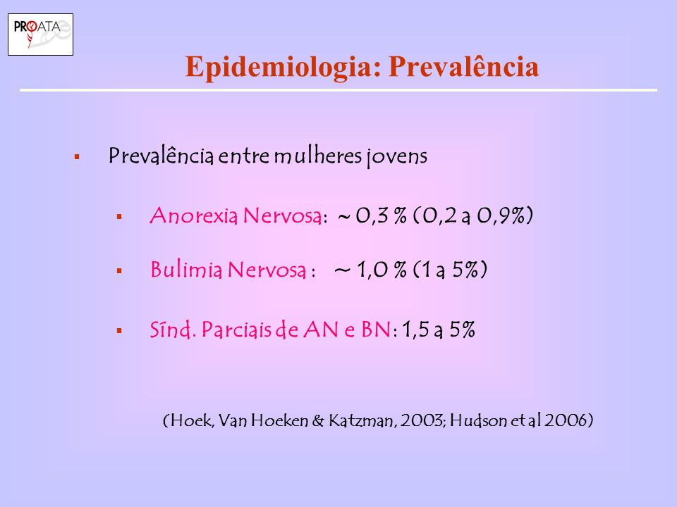 Epidemiologia: Prevalência