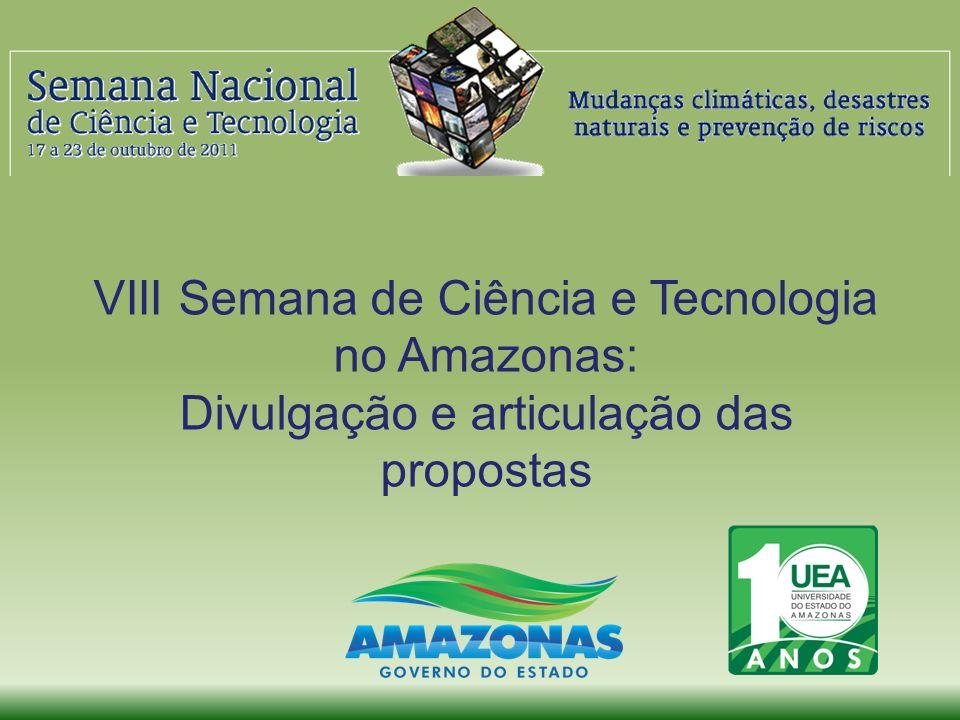 VIII Semana de Ciência e Tecnologia no Amazonas: