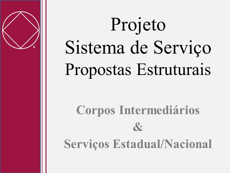 Projeto Sistema de Serviço Propostas Estruturais