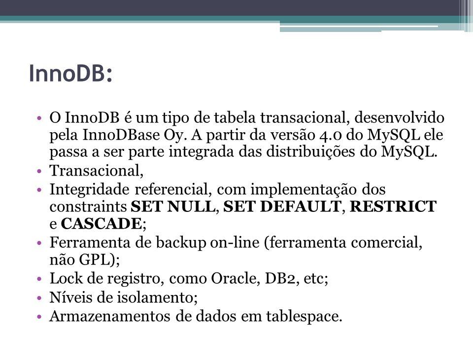 InnoDB: