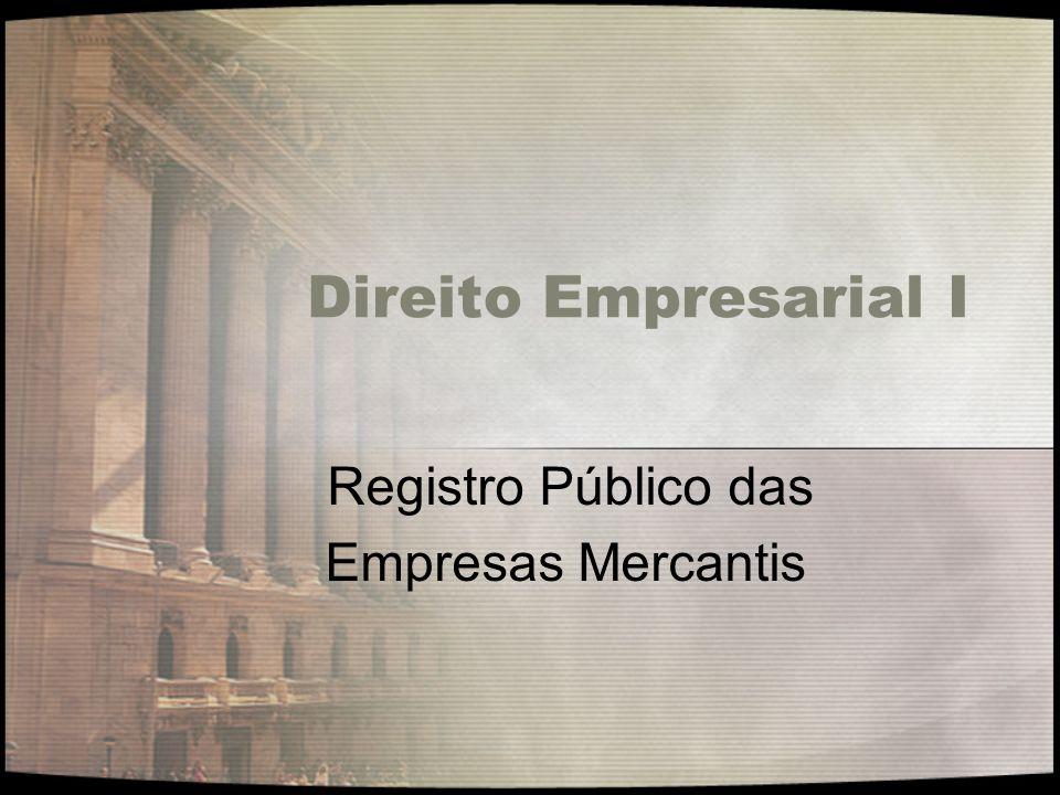 Registro Público das Empresas Mercantis