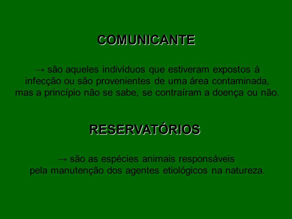 COMUNICANTE RESERVATÓRIOS