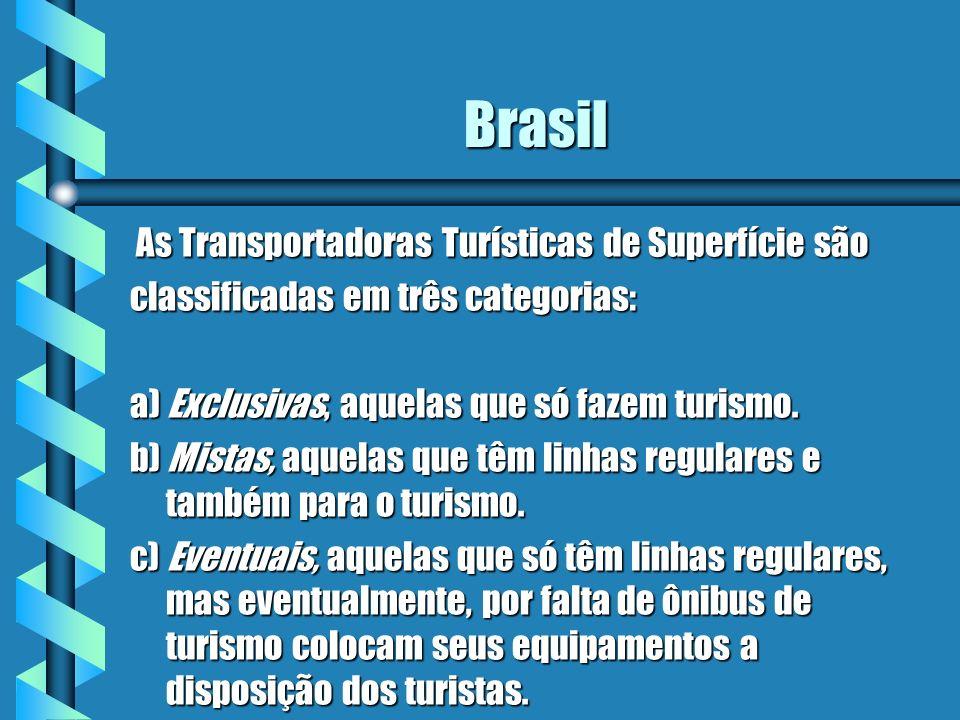 Brasil As Transportadoras Turísticas de Superfície são