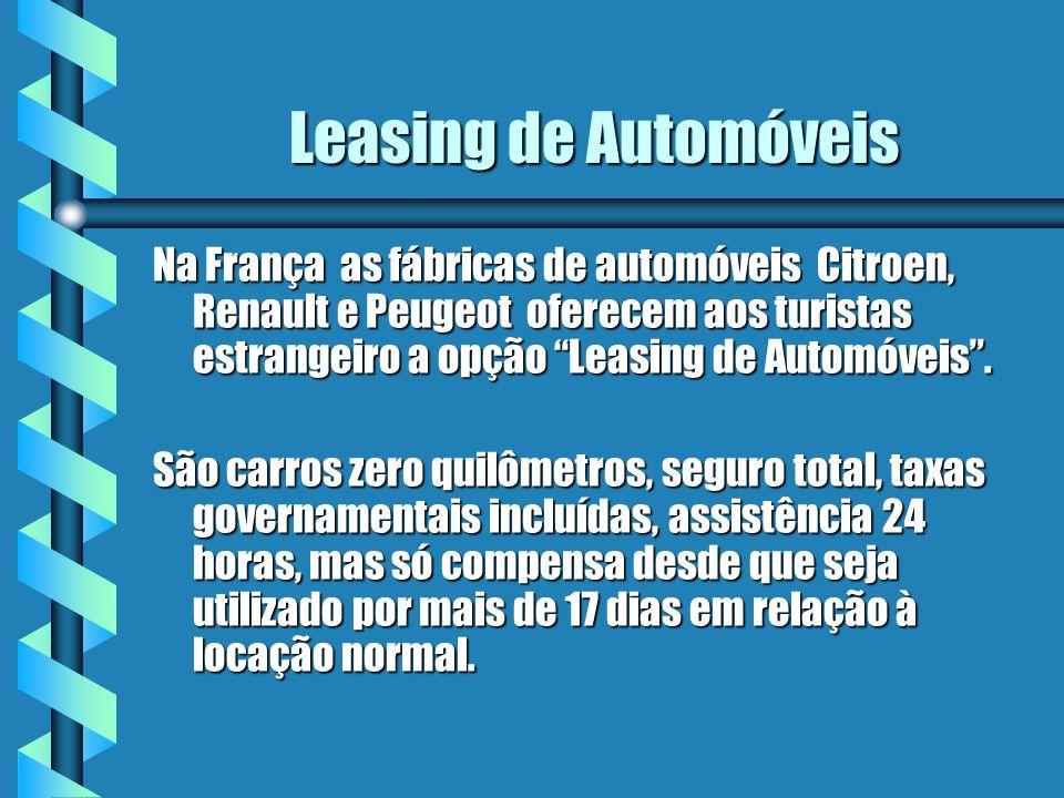 Leasing de Automóveis