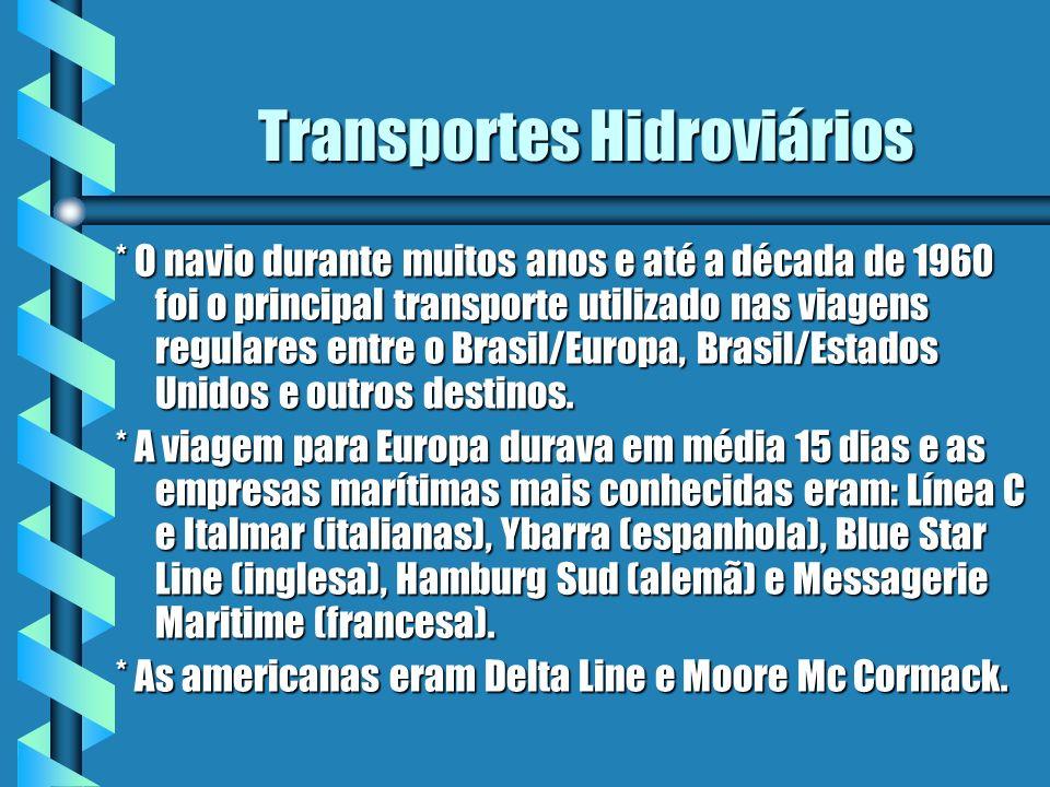 Transportes Hidroviários