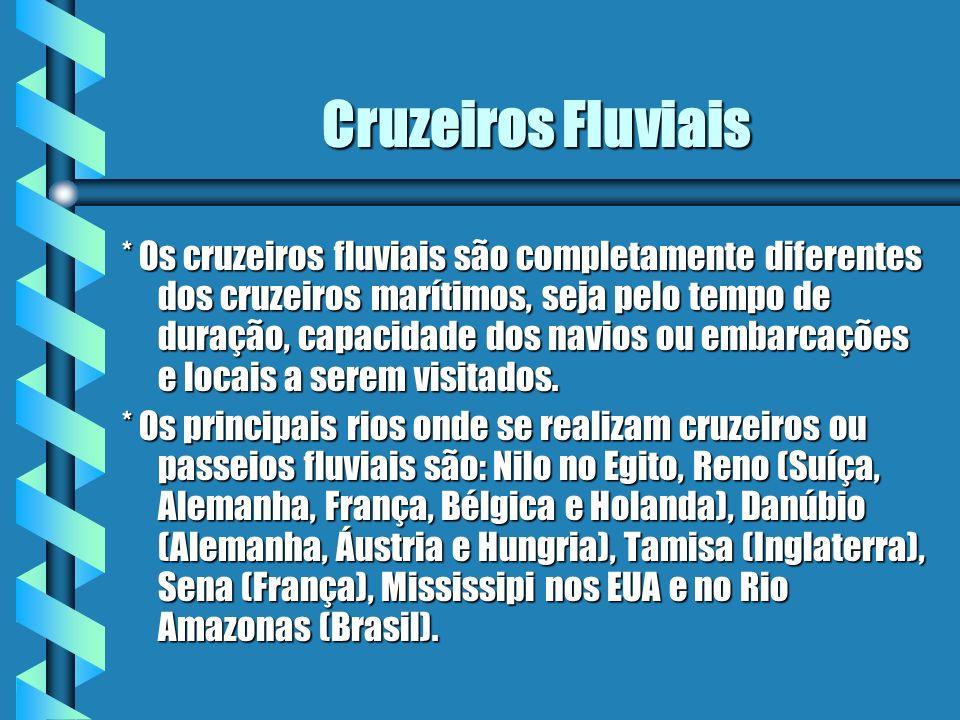 Cruzeiros Fluviais