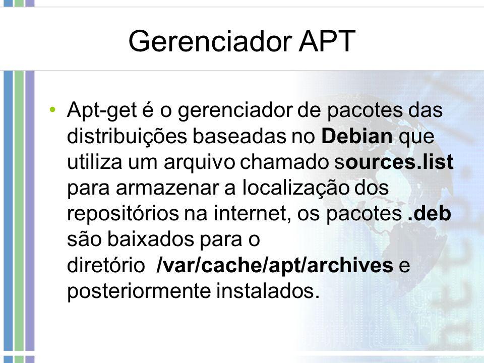 Gerenciador APT