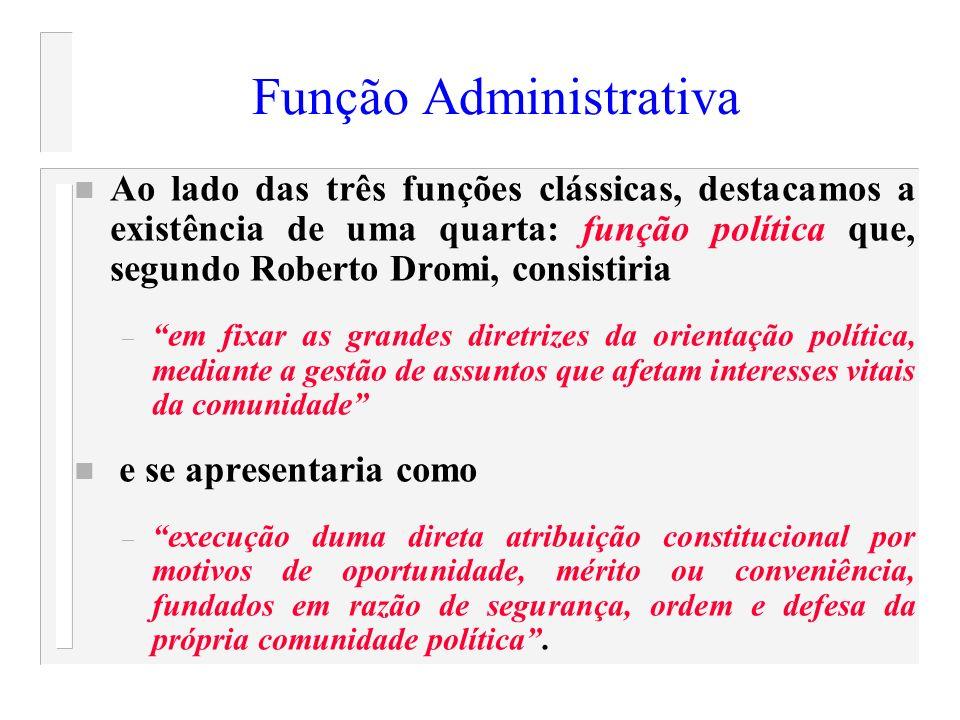 Função Administrativa