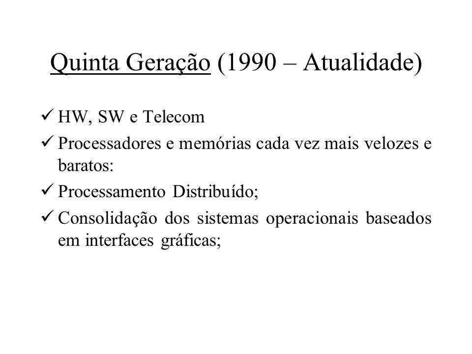 Quinta Geração (1990 – Atualidade)