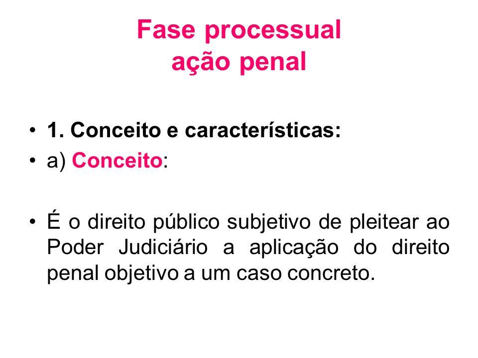 Fase processual ação penal