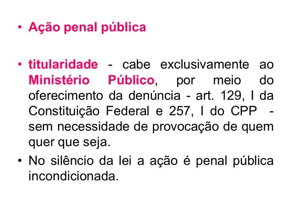 Ação penal pública