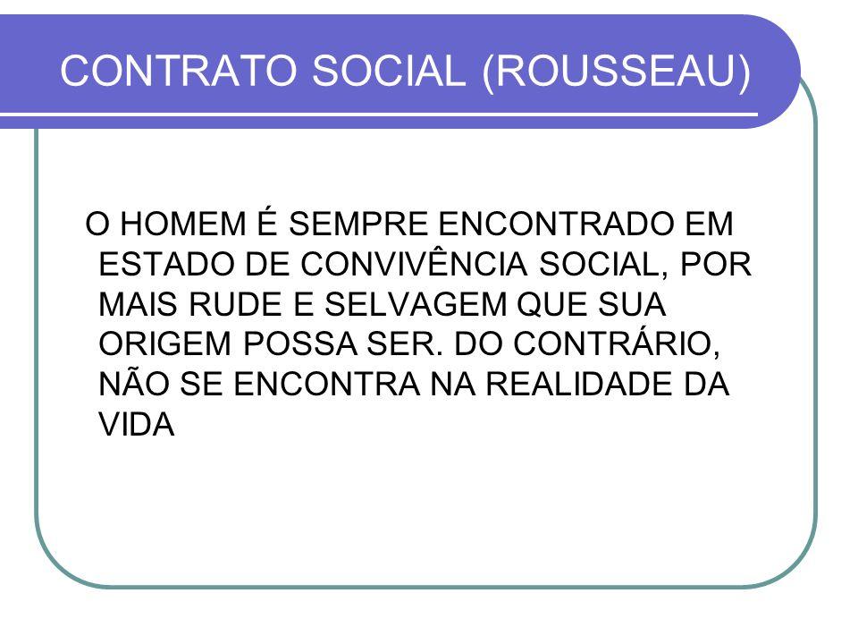 CONTRATO SOCIAL (ROUSSEAU)