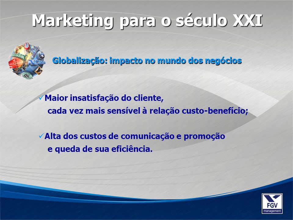 Marketing para o século XXI
