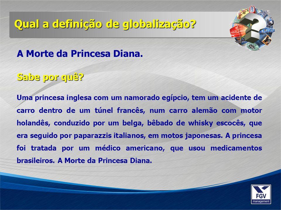 Qual a definição de globalização A Morte da Princesa Diana.