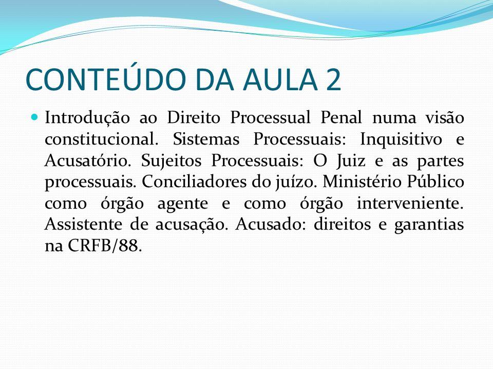 CONTEÚDO DA AULA 2