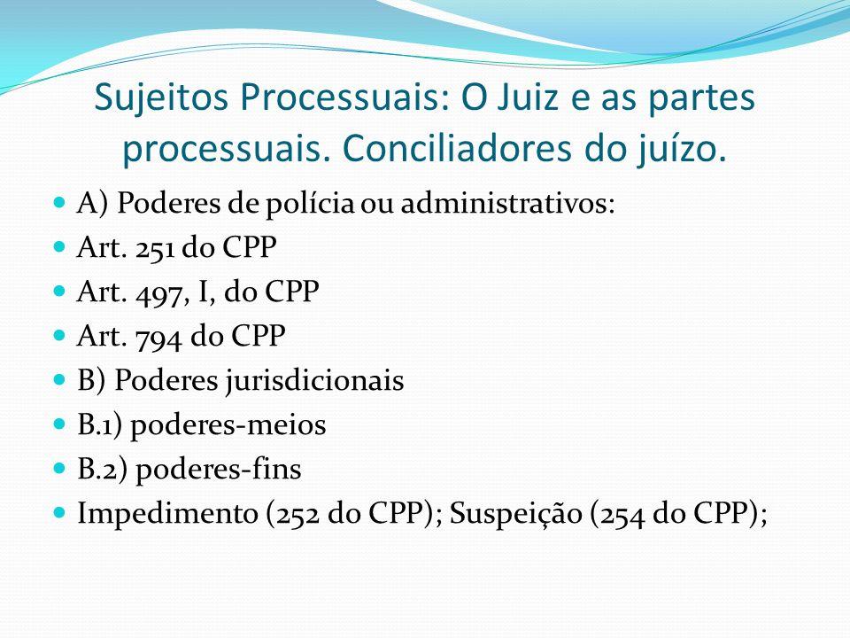 Sujeitos Processuais: O Juiz e as partes processuais