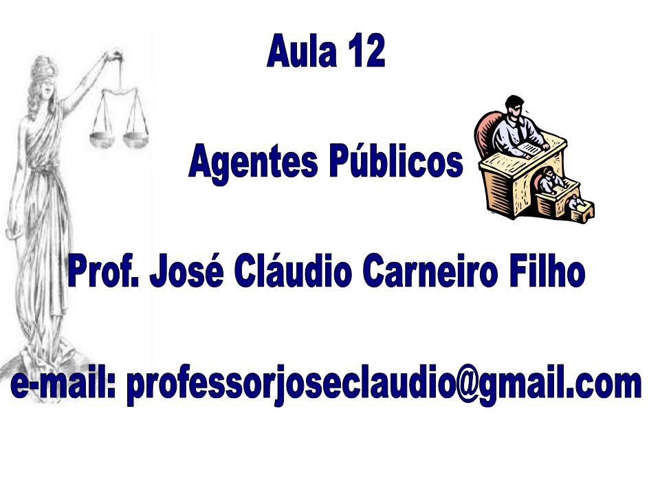 Prof. José Cláudio Carneiro Filho