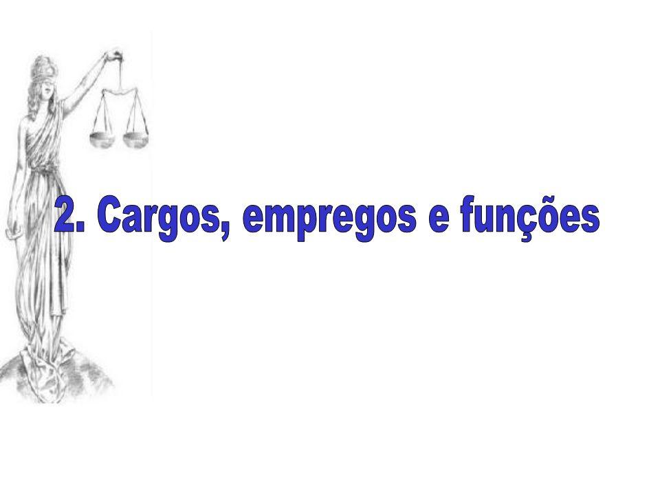 2. Cargos, empregos e funções