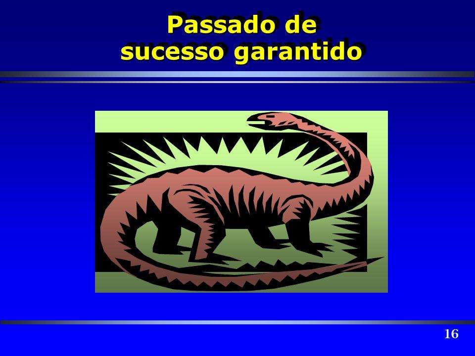 Passado de sucesso garantido