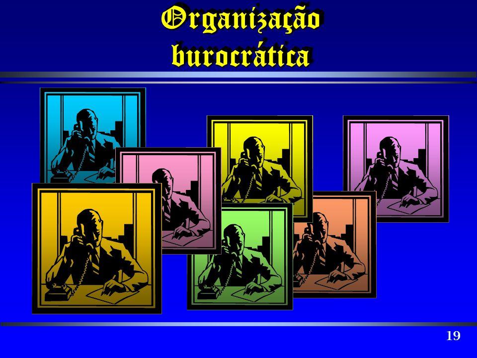 Organização burocrática