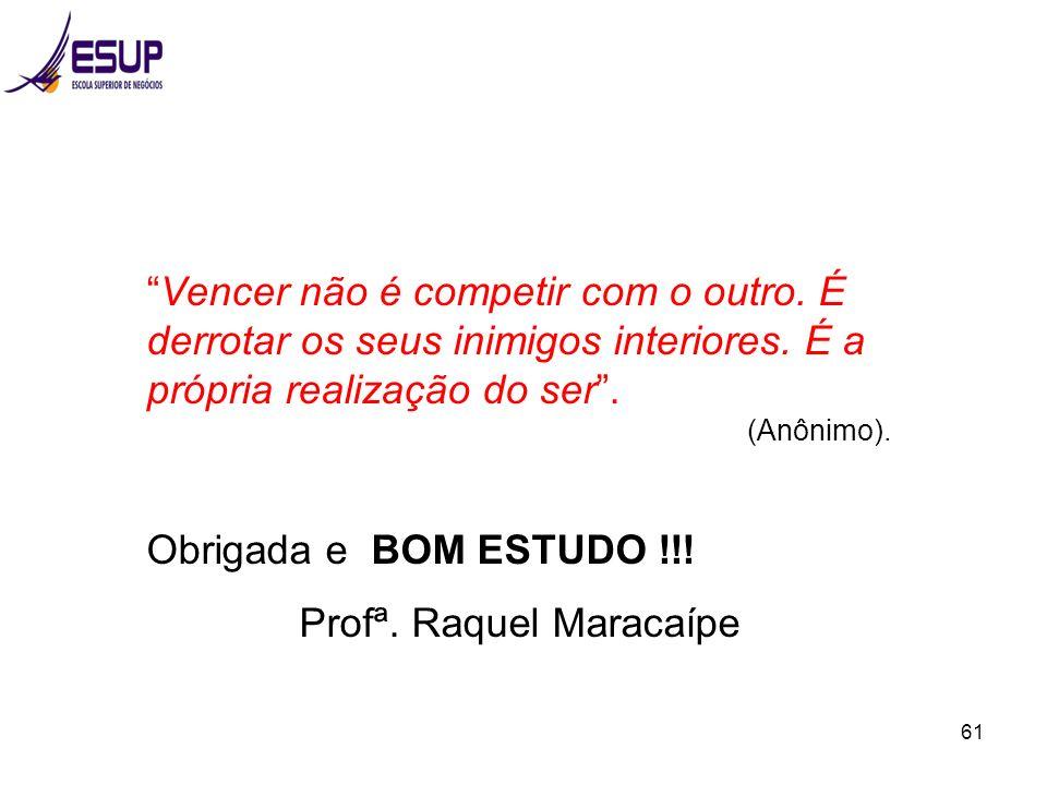 Profª. Raquel Maracaípe