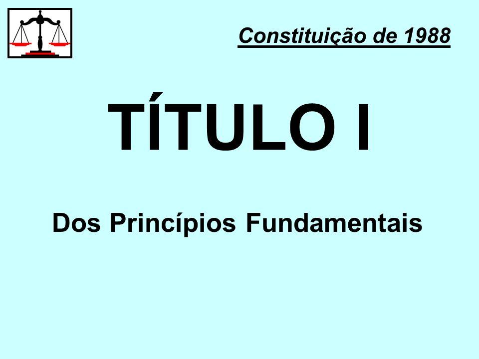 Dos Princípios Fundamentais