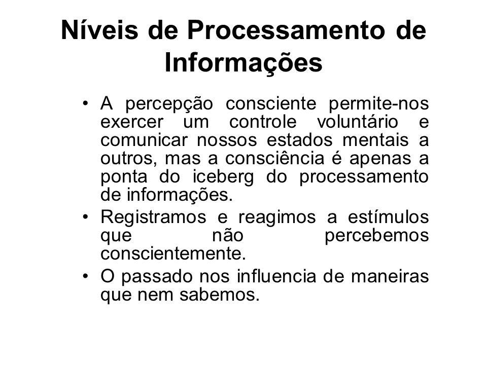 Níveis de Processamento de Informações