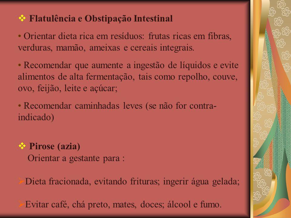 Flatulência e Obstipação Intestinal