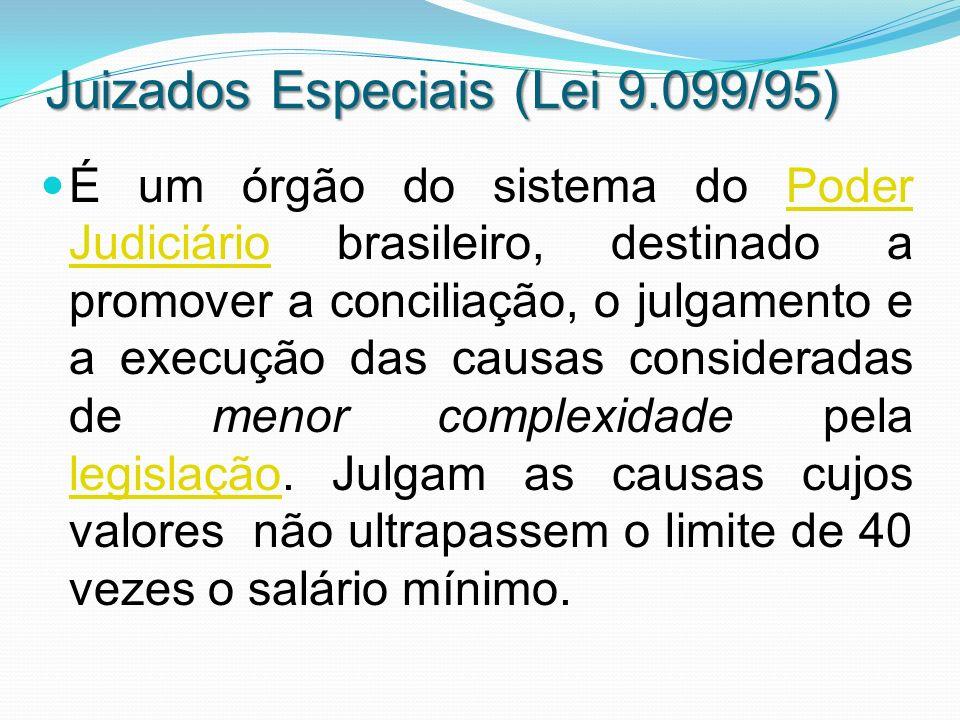 Juizados Especiais (Lei 9.099/95)