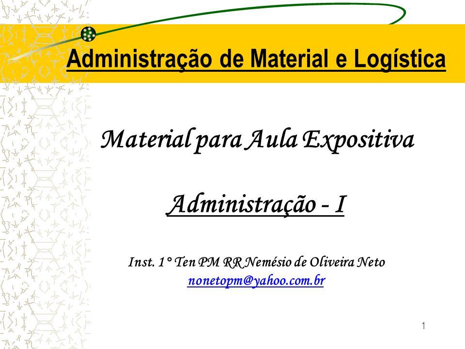 Administração de Material e Logística