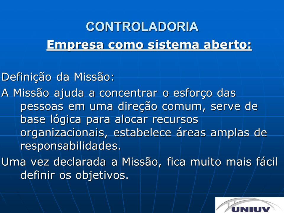 Empresa como sistema aberto:
