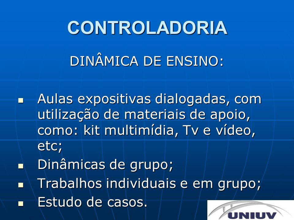 CONTROLADORIA DINÂMICA DE ENSINO: