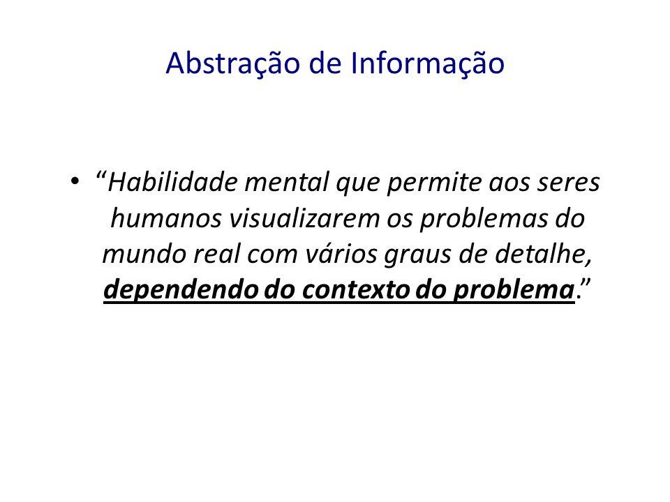 Abstração de Informação
