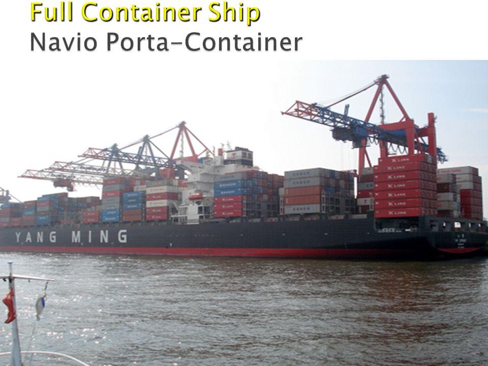 Full Container Ship Navio Porta-Container