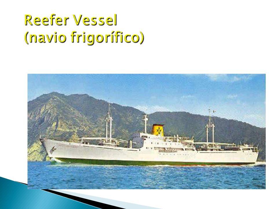 Reefer Vessel (navio frigorífico)
