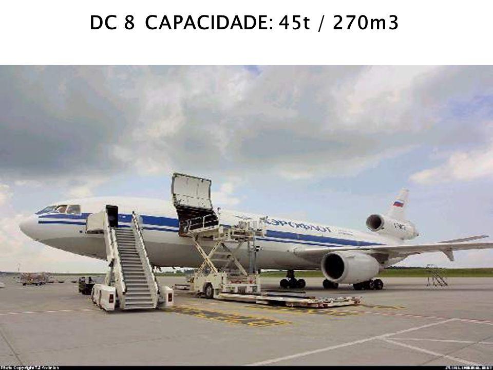 DC 8 CAPACIDADE: 45t / 270m3