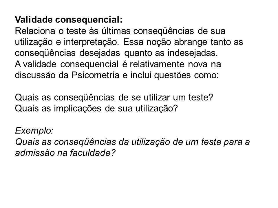 Validade consequencial: