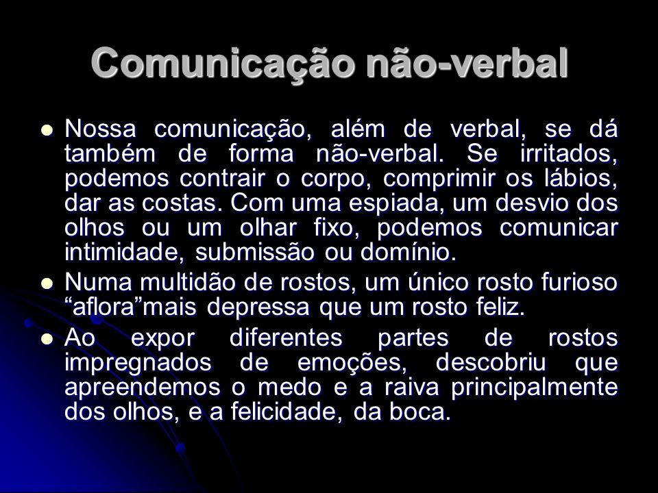 Comunicação não-verbal