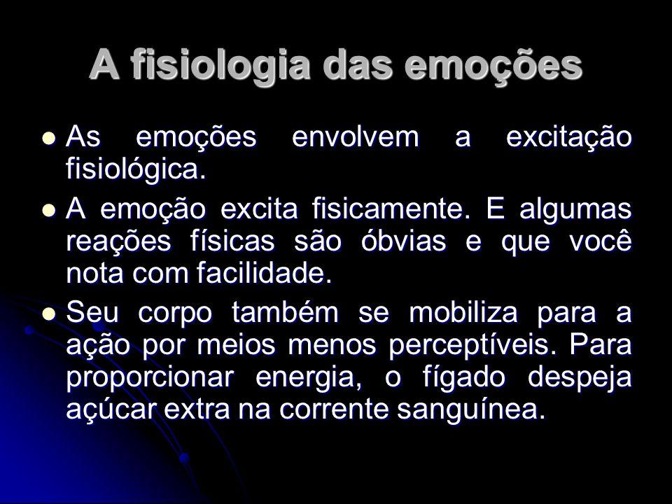 A fisiologia das emoções
