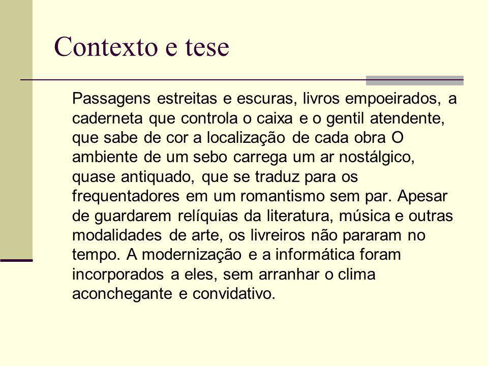 Contexto e tese