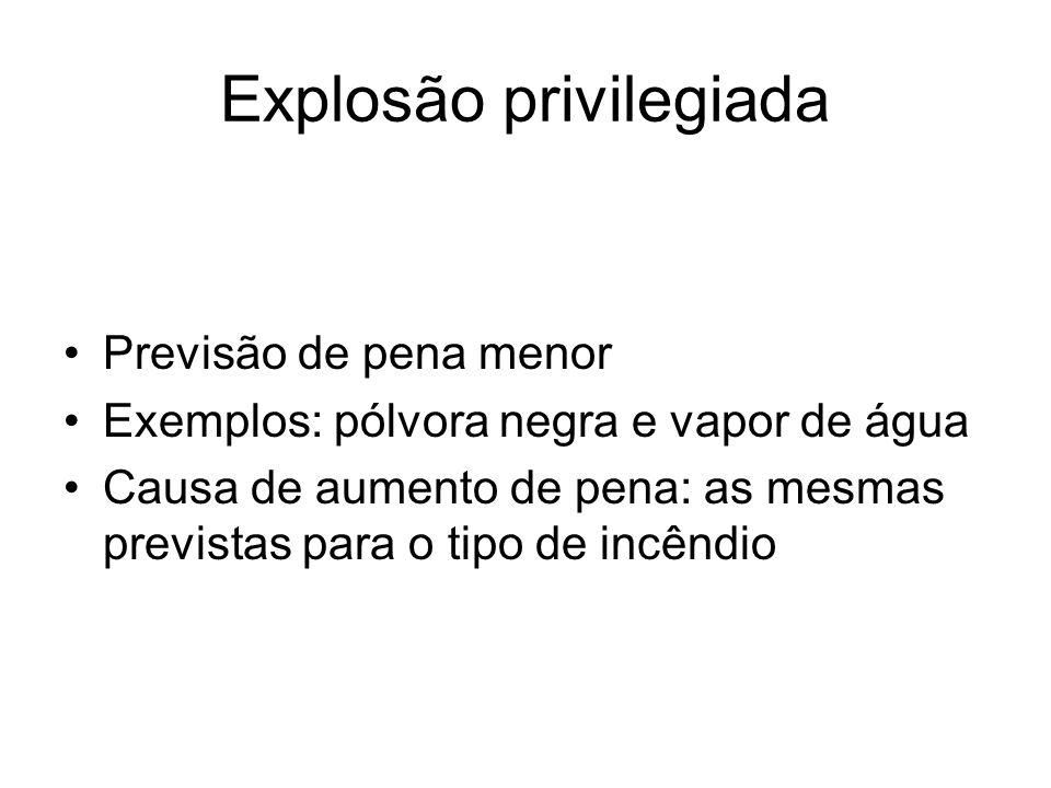 Explosão privilegiada