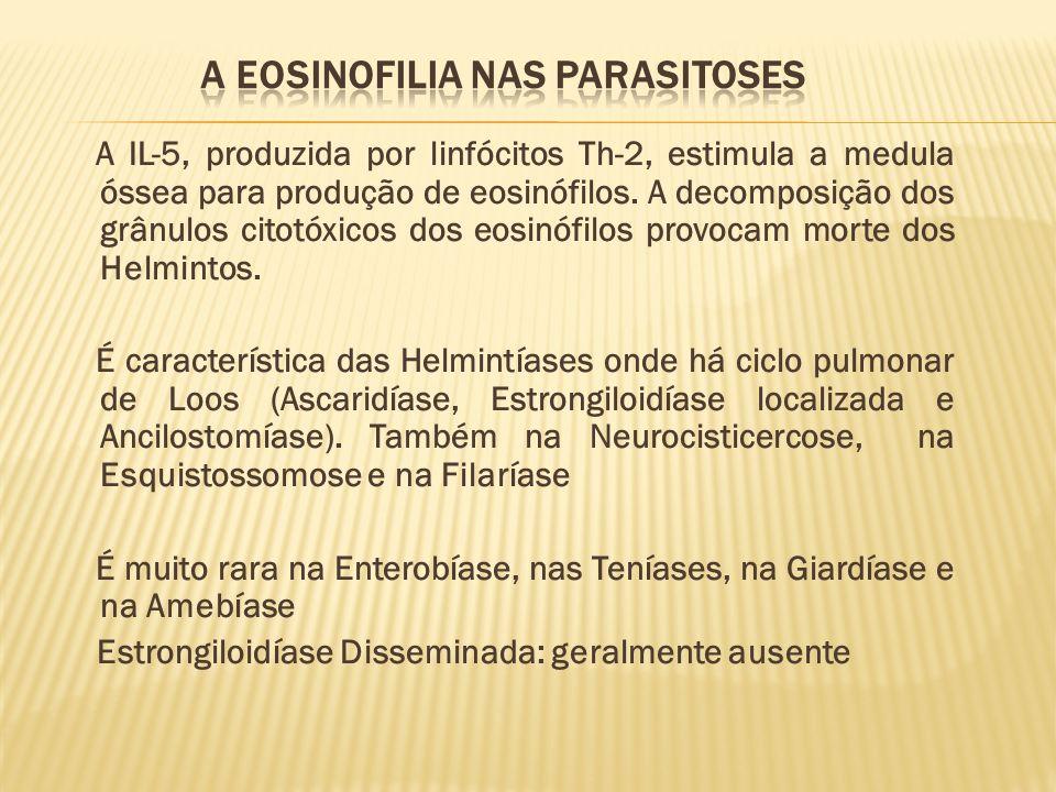 A EOSINOFILIA NAS PARASITOSES