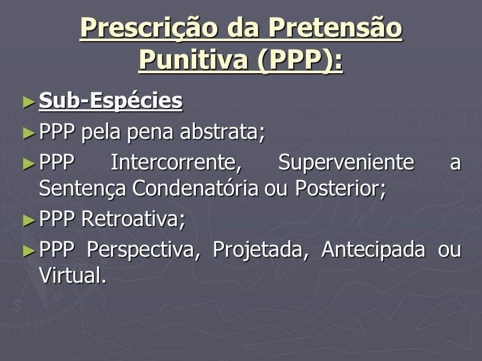 Prescrição da Pretensão Punitiva (PPP):