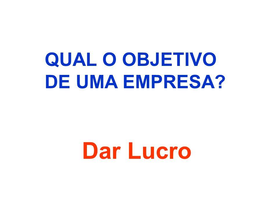 QUAL O OBJETIVO DE UMA EMPRESA